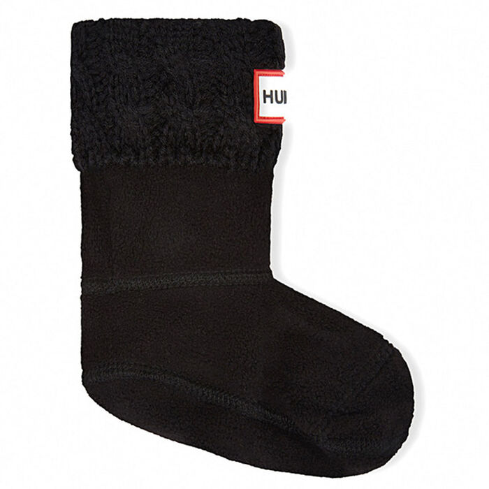 Juniors' [4-7] Six-Stitch Cable Boot Sock