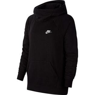Women's Sportswear Essential Funnel Neck Pullover Hoodie