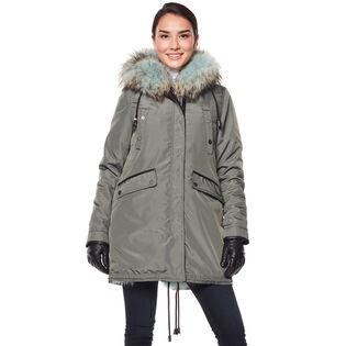 Women's Belleville Reversible Fur-Lined Parka