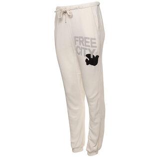 Pantalon de jogging Superfluff Pocket Lux pour femmes