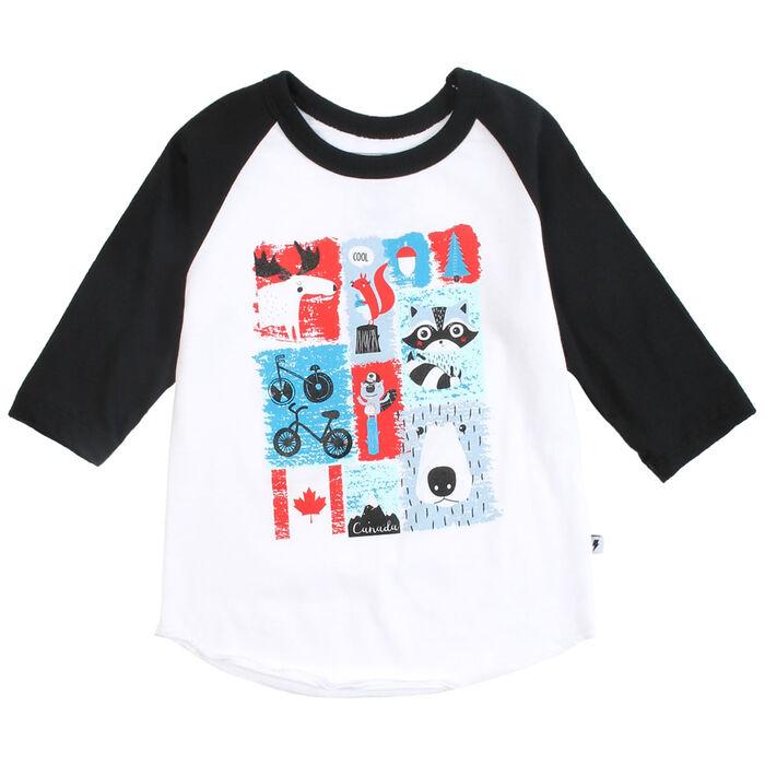 Kids' [2-5] Canada Baseball T-Shirt