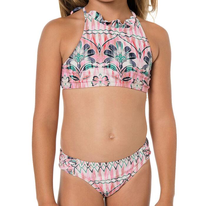 Girls' [2T-6X] Starlis High Neck Halter Bikini Set