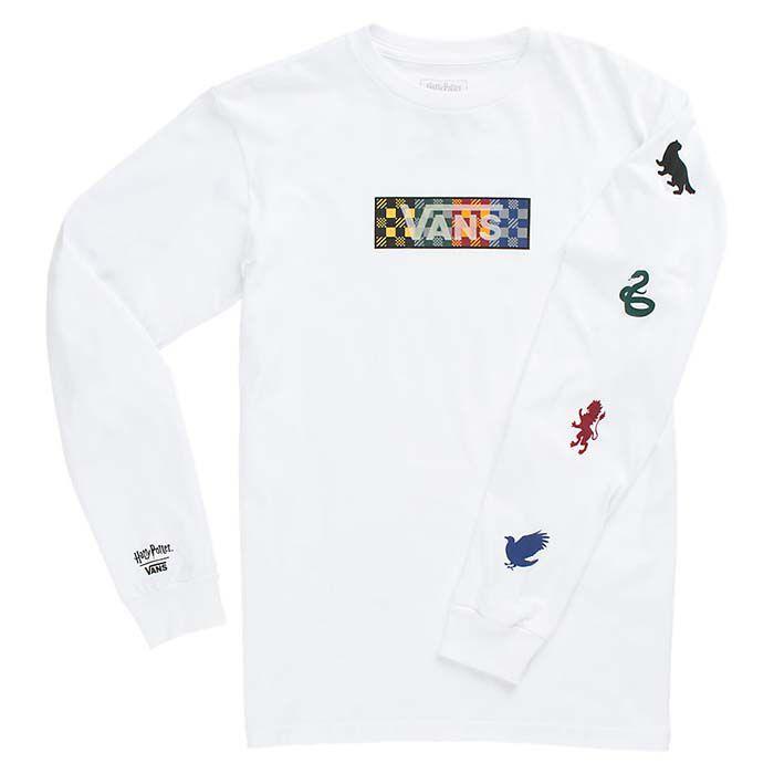Junior Boys' [8-16] Hogwarts Houses Long Sleeve T-Shirt