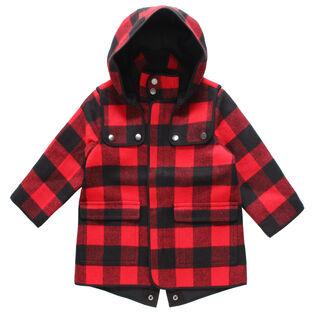 Girls' [2-6] Buffalo Check Coat