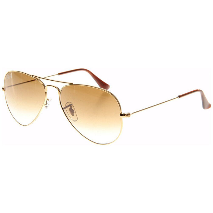 Aviator Large Metal Sunglasses
