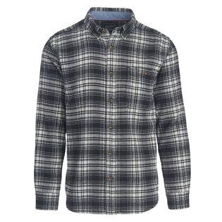 Men's Trout Run Plaid Flannel Shirt