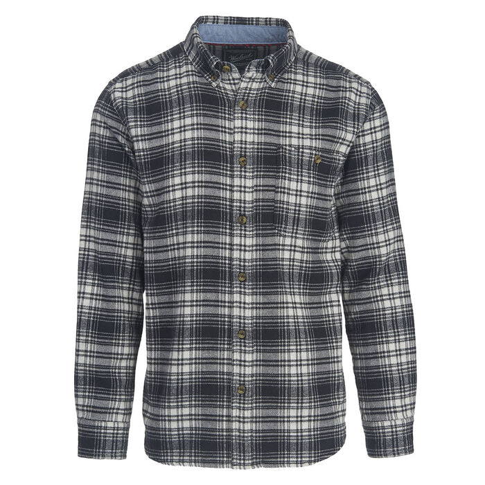 Men S Trout Run Plaid Flannel Shirt Woolrich Sporting Life Online