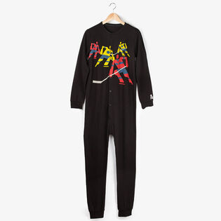 Unisex Arborist Hockey Night In Canada One-Piece Pajama