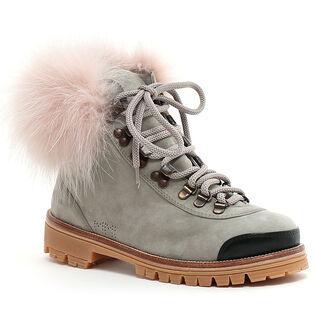 Women's Fur Trim Hiker Boot