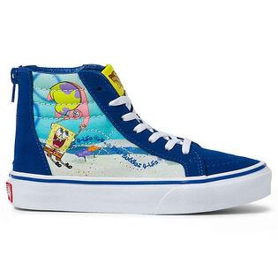 Chaussures SpongeBob Sk8-Hi Zip pour enfants [10-3]