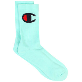 Unisex Big C Logo Crew Sock