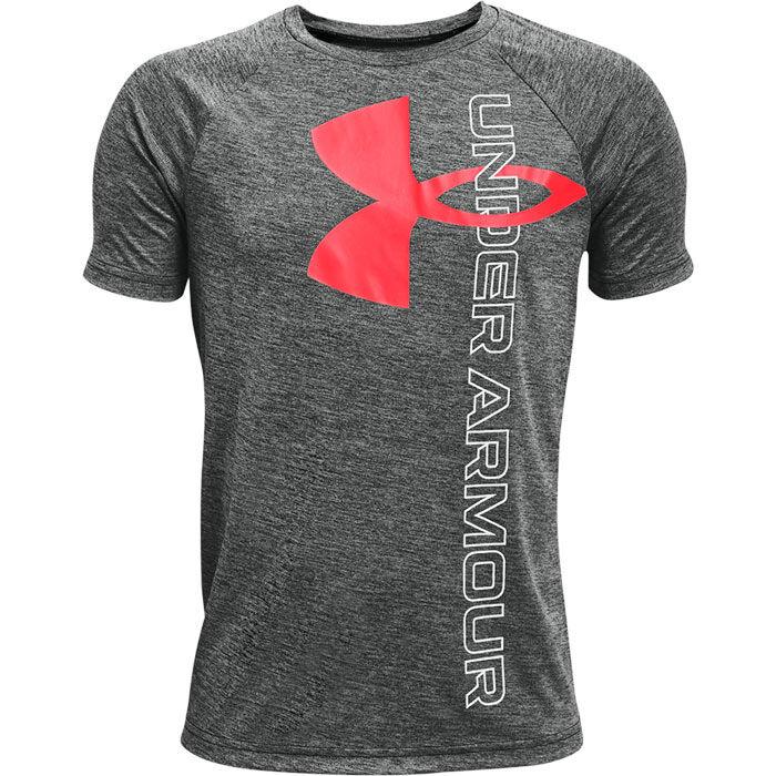 T-shirt UA Tech™ Split Logo Hybrid pour garçons juniors [8-16]