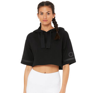 Women's Jersey Cropped Hoodie