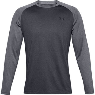 Men's Textured Long Sleeve Top