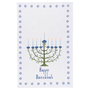 Hanukkah Tree Dishtowel