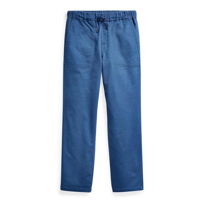 Pantalon fuselé en coton extensible pour garçons juniors [8-20]