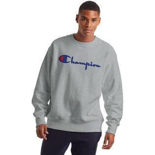 Unisex Reverse Weave® Large Logo Crew Sweatshirt