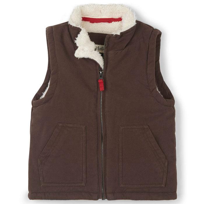Boys' [2-6] Sherpa-Lined Vest