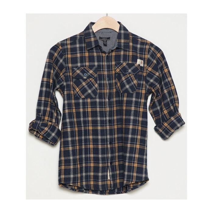 Junior Boys' [8-16] Pocket Plaid Shirt