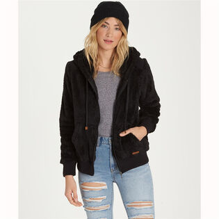 Women's Cozy Down Polar Fleece Hoodie