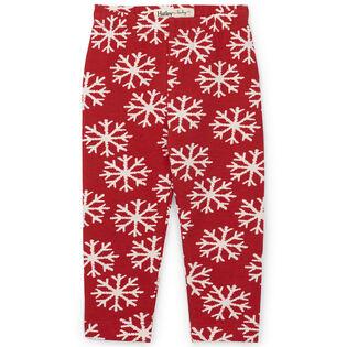 Legging Falling Snowflakes pour bébés filles [6-24M]