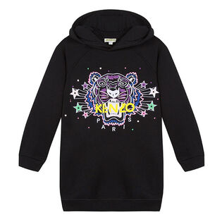 Junior Girls' [8-14] Star Tiger Hoodie Dress