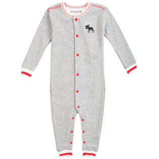 Babies' [3-24M] Canadiana Moose Union Suit