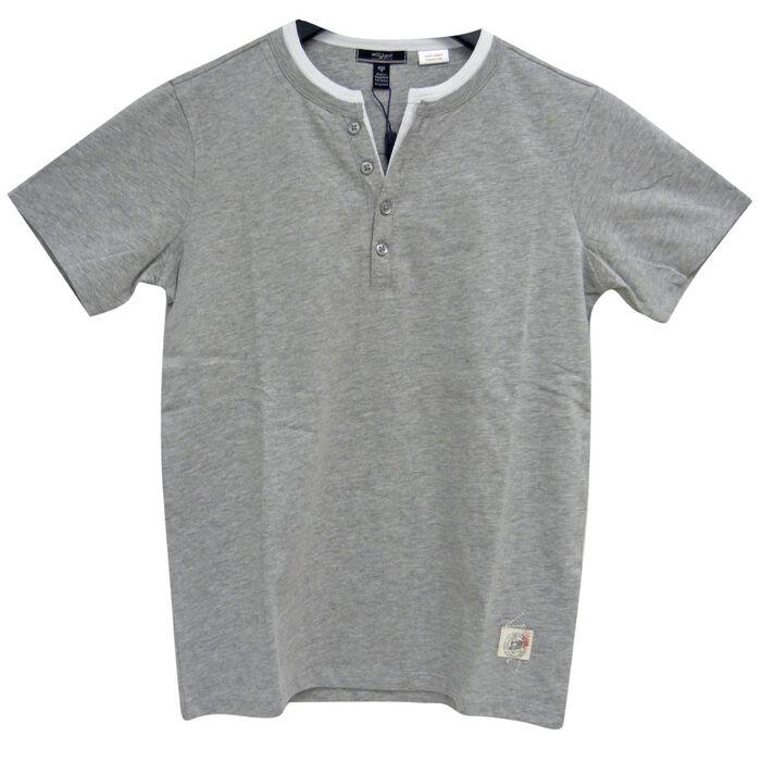 Boys' [4-7] Double Collar Henley T-Shirt