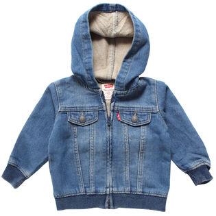Baby Boys' [12-24M] Waverly Indigo Knit Hoodie