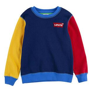 Boys' [2-4T] Crayola® Colourblock Crew Sweatshirt
