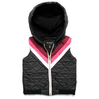 Girls' [2-5] Retro Bomber Vest