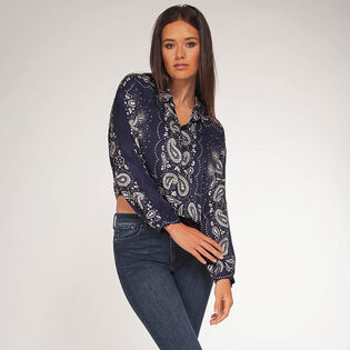 Women's Paisley Blouse