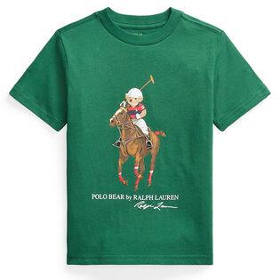 Boys' [2-4] Polo Bear & Big Pony Cotton T-Shirt