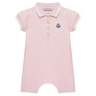 Baby Girls' [6-24M] Stretch Pique Coverall