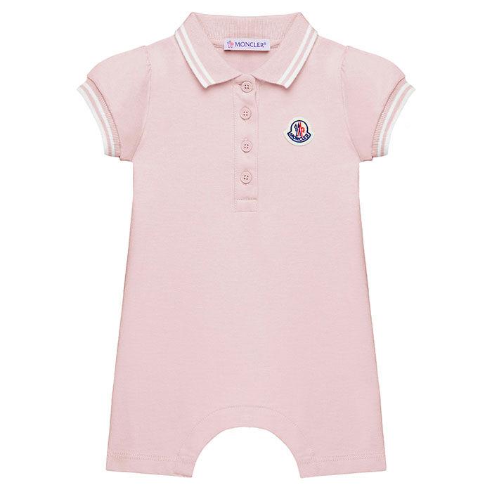 Barboteuse en piqué extensible pour bébés filles [6-24M]