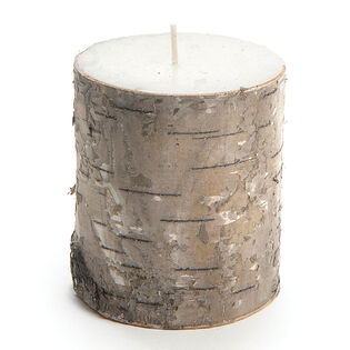 Birch Bark Candle (Small)