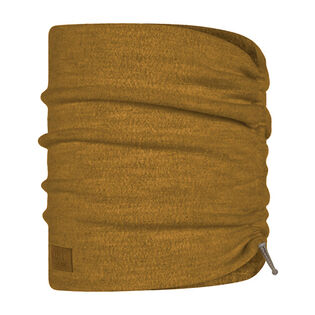 Ochre Merino Wool Fleece Neck Warmer