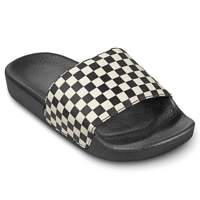 8079f364e6e Juniors   13-6  Checkerboard Slide-On Sandal