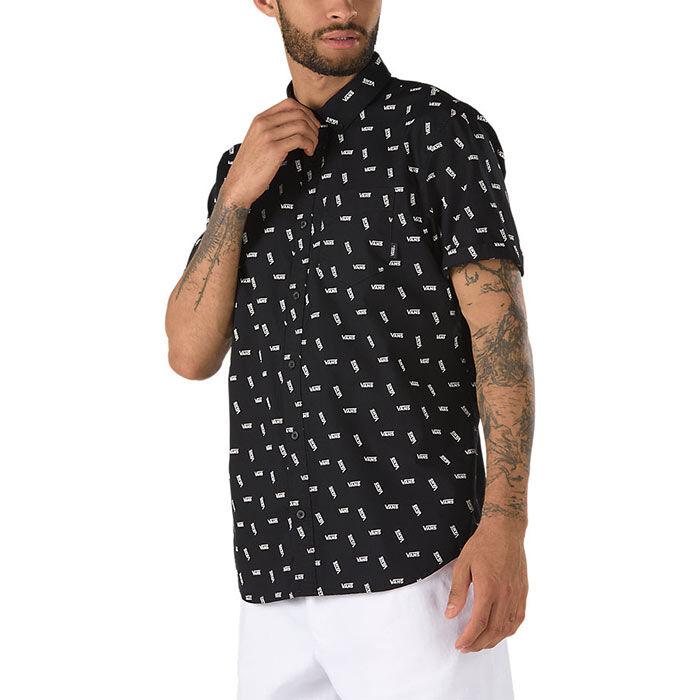Men's Allover Distorted Performance Shirt