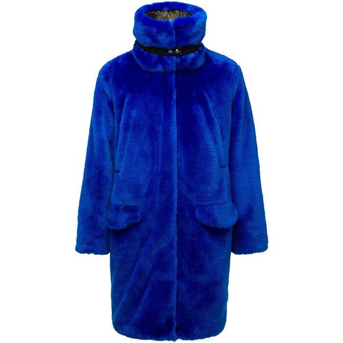Women's Mic! Fur Coat