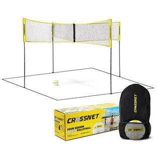 CROSSNET Four-Way Volleyball Net