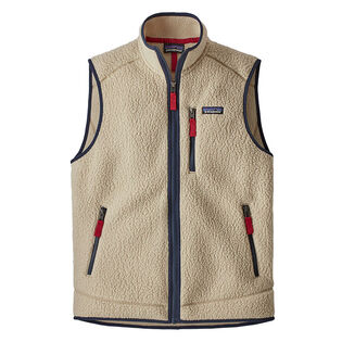 Men's Retro Pile Fleece Vest