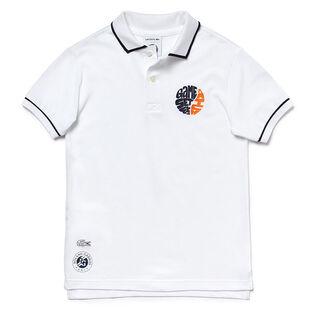 Boys' [4-8] Sport Roland Garros Petit Pique Polo