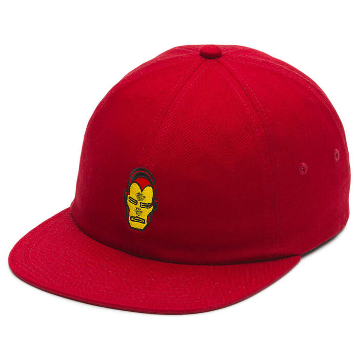 Men's Iron Man Snapback Cap