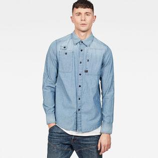 Men's H-A Stalt Utility Straight Shirt