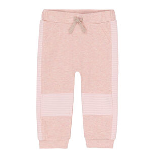 Baby Girls' [6-24M] Quilted Jogger Pant