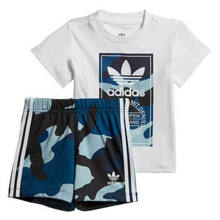 Baby Boys' [6M-3Y] Camouflage Two-Piece Set