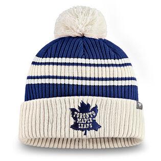 Tuque Toronto Maple Leafs True Classic à pompon pour hommes