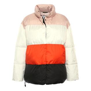 Women's Colour Block Puffer Jacket