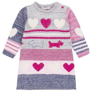 Girls' [2-6] Preppy Chic Knit Dress